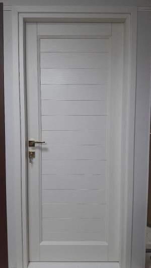 درب سرویس و اتاقی پروفیلی سفید